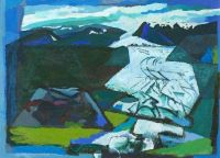 roy, bizley, painting, swindon, seasons, art