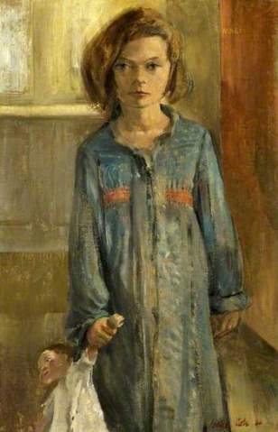 Cole - Young Girl with Doll