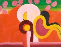 gramophone, painting, howard, hodgkin, art, swindon, gallery, exhibition