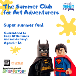 summer, camp, online, children, families, swindon, art