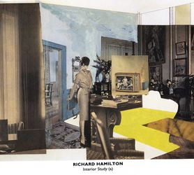 Richard Hamilton, Interior Study (a)