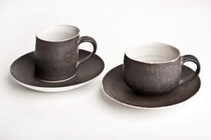 Lucie Rie - Cups and Saucers