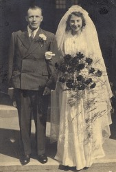 Wedding dress donated to Swindon Museum and Art Gallery Collections